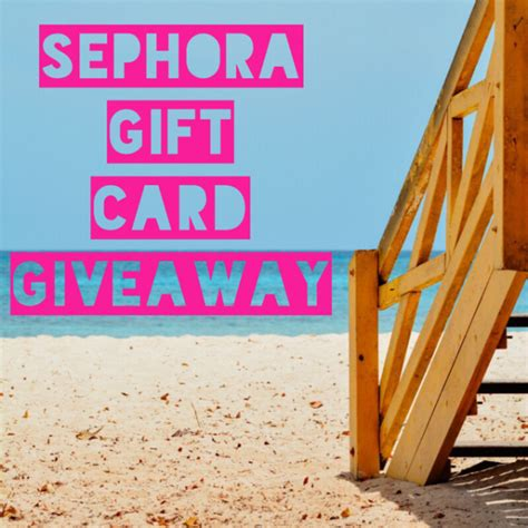 Where To Buy A Sephora Gift Card - 150 sephora gift card giveaway ends 8 2 mommies with cents