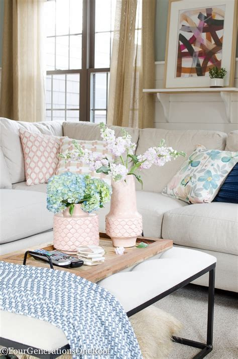 spring decor room inspo jess lizama spring home tour 2017 simple spring styling tips the