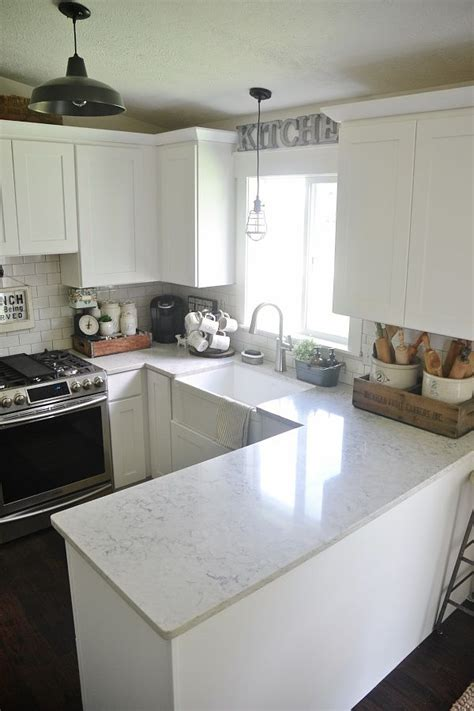 white kitchen cabinets pros and cons quartz countertop review pros cons subway tile