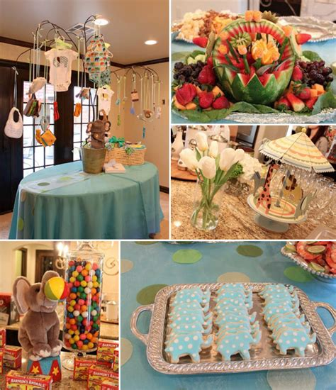 Safari Baby Shower Decorations For A Boy by Chic Elephant Baby Shower Ideas And Invitations For 2014