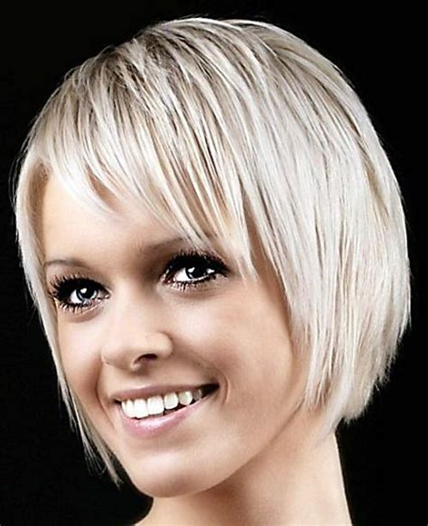 hairstyles for super fine hair very short haircuts with bangs for women short