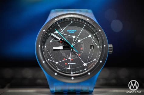 Swatch System 51 Automatic swatch sistem51 review monochrome watches