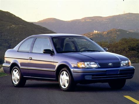 1998 Toyota Tercel 1998 Toyota Tercel Specs Safety Rating Mpg Carsdirect