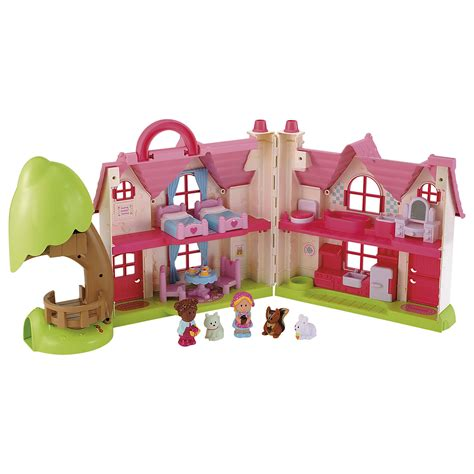 Happyland Cottage by Elc Happyland Cherry Cottage Pink