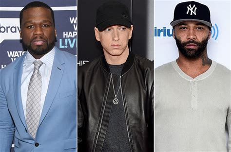 eminem joe budden 50 cent promises joe budden ass whooping over eminem