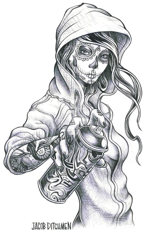 chicano art tattoos 109 best images about gangster on gangster