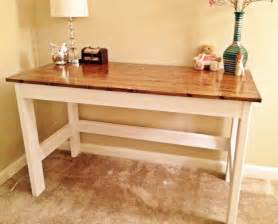 How To Build A Rustic Dining Room Table Country Desk Do It Yourself Home Projects From Ana White