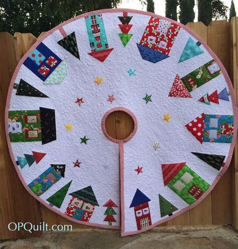 quilt pattern for christmas tree skirt 200 quilts occasionalpiece quilt