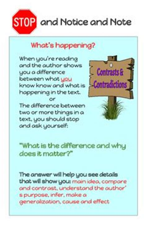 reading nonfiction notice note stances signposts and strategies based on the revolutionary and changing new book