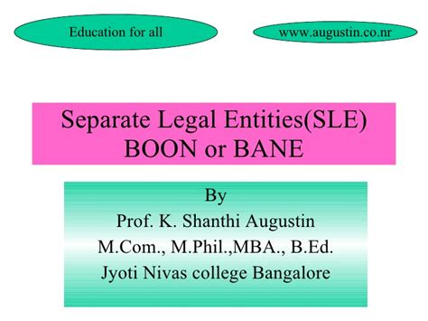 Mcom Mba Linkedin by Seperate Entities Boon Or Bane To Corporates And