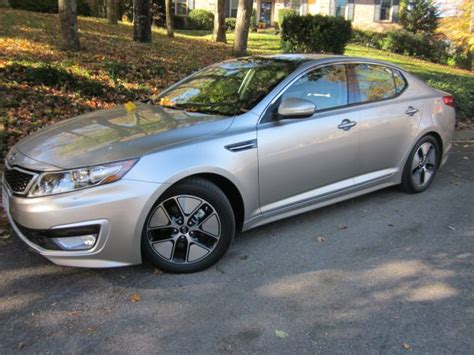 Kia Optima Fuel Mileage Kia Optima Hybrid Review