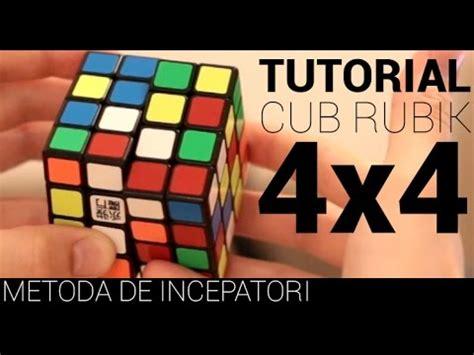 tutorial rubik pdf tutorial cubul rubik 4x4x4 metoda de incepatori youtube