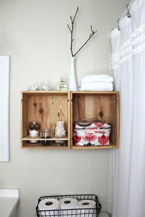 nachttisch für die wand idee aufbewahrung badezimmer