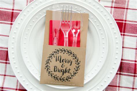 printable christmas utensil holders free holiday printable free printable bottle wrap free