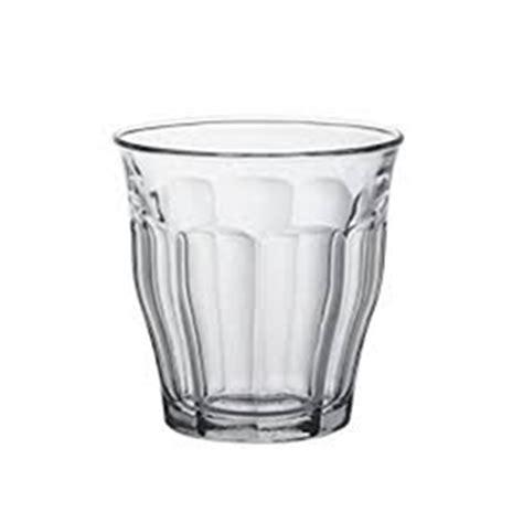 duralex bicchieri set 6 pezzi di bicchieri vetro duralex picardie bicchiere