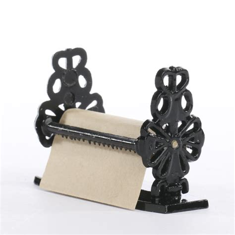 Craft Paper Dispenser - miniature antique paper dispenser kitchen miniatures
