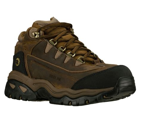 skechers for work energy blue ridge s steel toe ankle