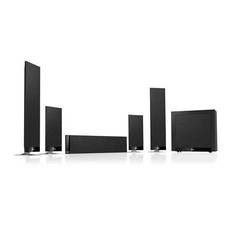 t205 home theater 7 1 surround sound system black kef