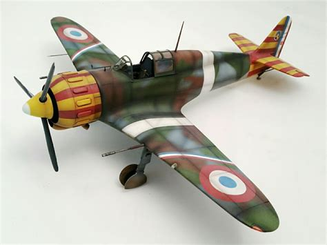 Home Planes Azur 1 32 Bloch Mb 152 In Vichy Colors Large Scale Planes