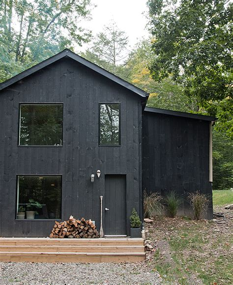 Saltbox House Plans Designs by A Catskill Home With A Scandinavian Vibe Design Sponge