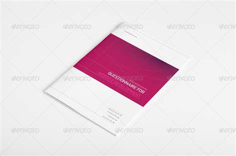 questionnaire design proposal questionnaire for web design proposal by egotype