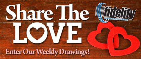 Love Sweepstakes - share the love sweepstakes fidelity communications co