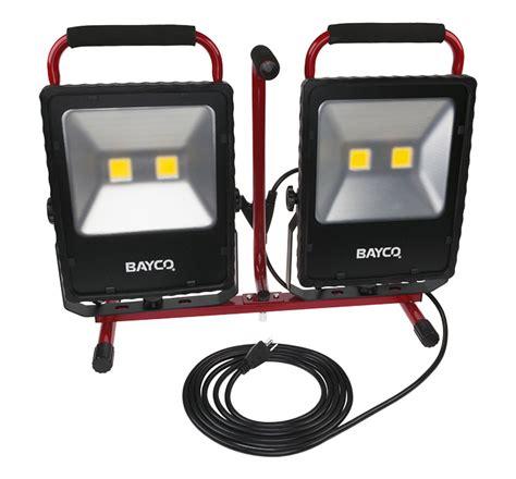 10000 lumen led work light save on bayco sl 1530 10 000 lumen work light at toolpan com