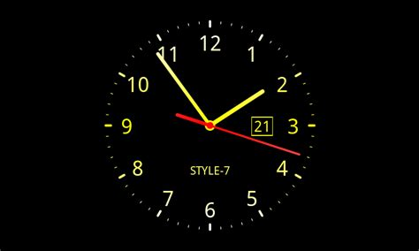 Live Wallpaper For Pc Clock | awesome clock live wallpaper v 6 1 1 download android vally