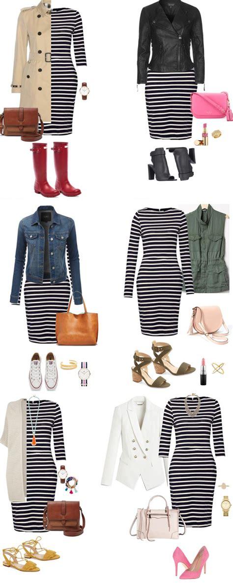 Striped Army Look Dress best 25 stripe dress ideas on striped dress