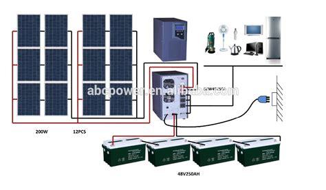home solar power kits solar energy system stand alone solar kit whole house solar power system 2000w solar panel kit