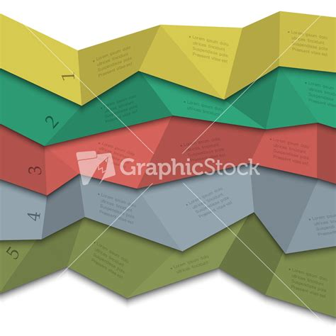 Origami Style - origami style creative design template for infographics