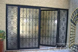 portes grilles a ba 241 os