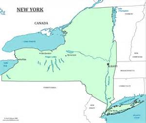 Map Of New York State With Major Cities by New York State Map Map Of New York And Information About