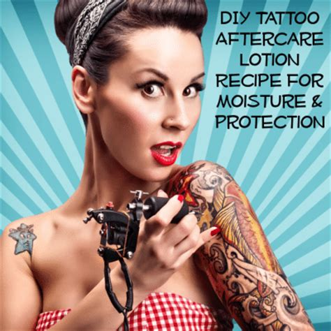 tattoo cream recipe homemade tattoo aftercare lotion