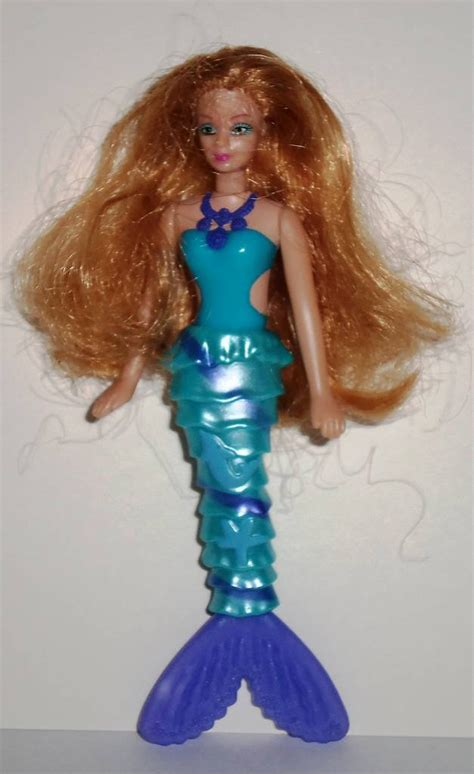 Happy Doll With Phone Blue mcdonald s 2010 in a mermaid tale xylie the mermaid doll happy meal used