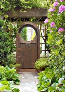 Old wooden garden gates garden gate woodburn abby
