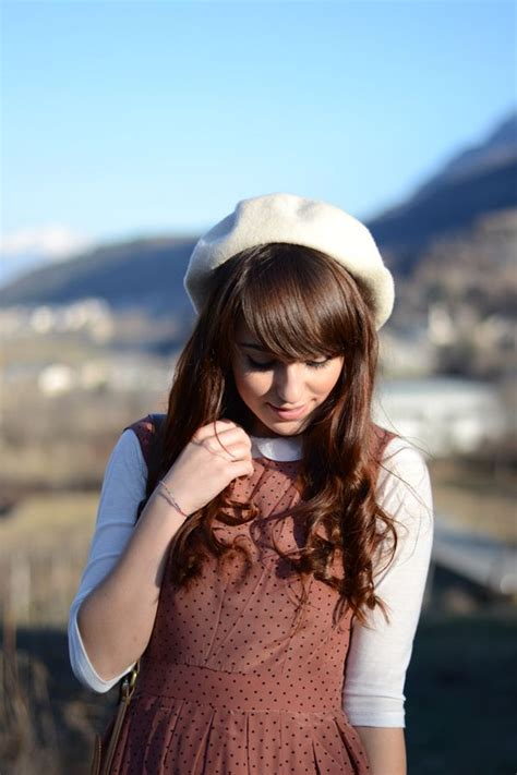 how to wear a beret with bangs how to wear a beret glam radar