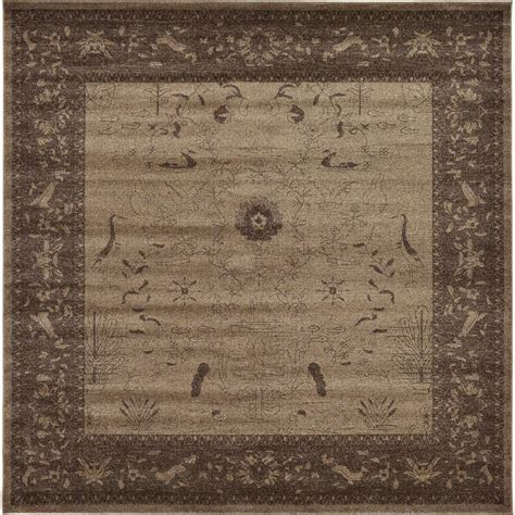 10 X 20 Ft Rug - unique loom traditional versailles brown 10 ft x 13 ft