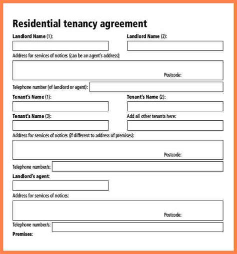 tenancy agreement template scotland assured tenancy agreement template 28 images best