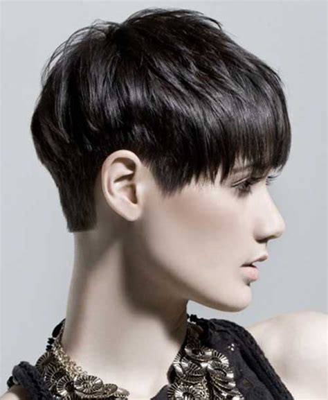 the best pixie cut for black hair short hairstyles for dark hair short hairstyles 2017