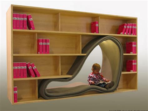cave bookshelf ideas 2013