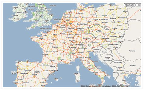 Search By Country Maps European Countries