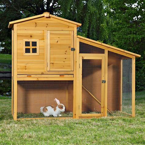 mit stall hasenstall holz kaninchenstall freilaufgehege stall