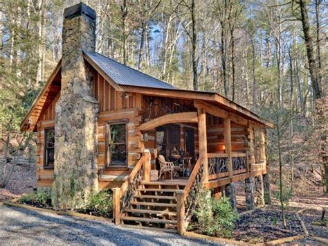 Small Mountain Cabin Small Log Cabin Georgia Small Log Mountain Log House Plans