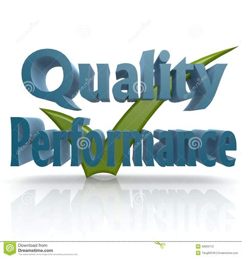 design performance graphics inc tick quality performance stock illustration image 40603712