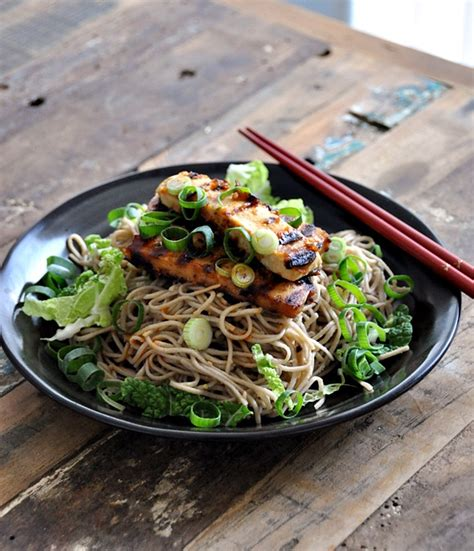 essential cooker recipes 103 fuss free cooker meals everyone will books soba with miso maple syrup dressing topped with