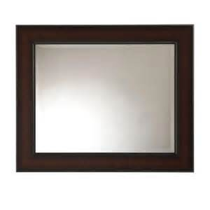 bathroom wall mirrors home depot martha stewart living maracaibo 36 in x 30 in coppered