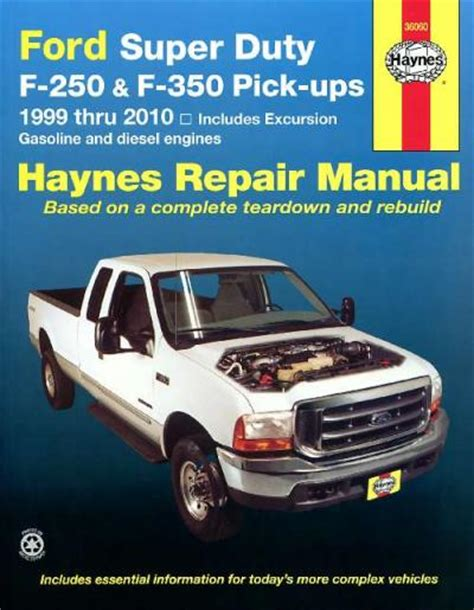 old car repair manuals 1999 ford f350 user handbook ford super duty f 250 f 350 pick ups 1999 2010 sagin workshop car manuals repair books