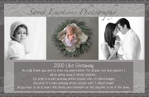 2000 Likes Giveaway - sydney newborn and childrens photographer 2000 like giveaway sweet emotions