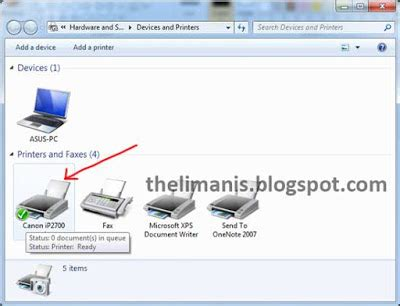 cara reset printer canon ip2770 tanpa software update begini cara paling mudah install printer canon ip2770